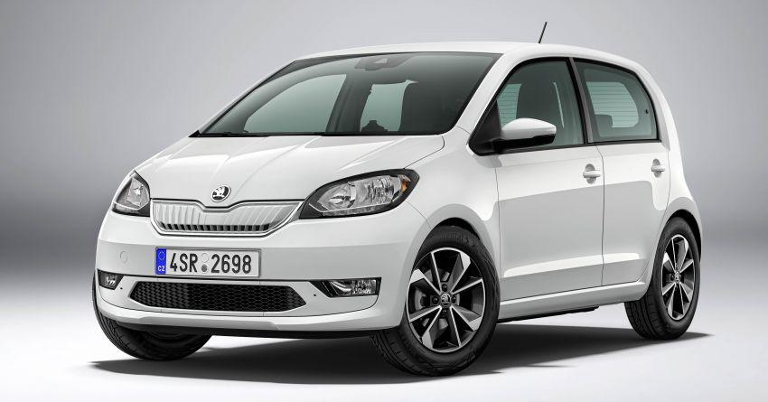 Skoda Citigo e iV debuts – brand's first production EV Image #962617