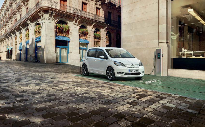 Skoda Citigo e iV debuts – brand's first production EV Image #962620