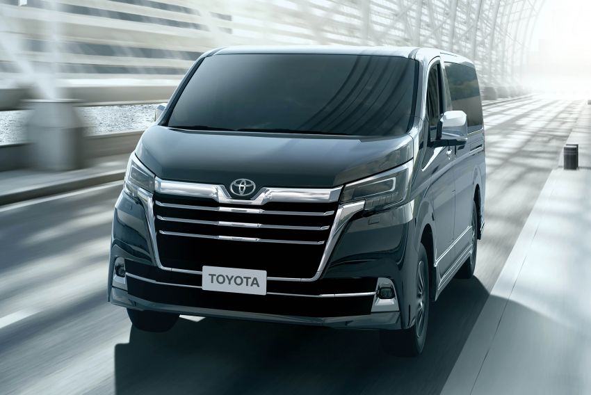 Toyota Granvia didedahkan – van mewah 8-tempat duduk berasaskan Hiace, kelengkapan seakan Vellfire Image #961993