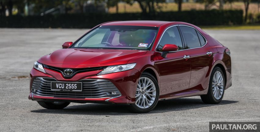 FIRST DRIVE: 2019 Toyota Camry 2.5V – RM190k Image #960212