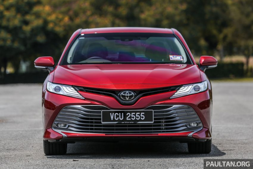 FIRST DRIVE: 2019 Toyota Camry 2.5V – RM190k Image #960221