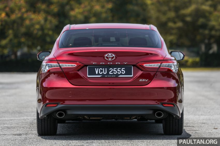 FIRST DRIVE: 2019 Toyota Camry 2.5V – RM190k Image #960223