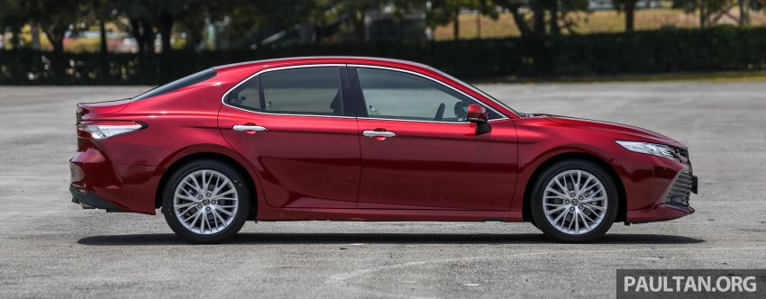 FIRST DRIVE: 2019 Toyota Camry 2.5V – RM190k Image #960224
