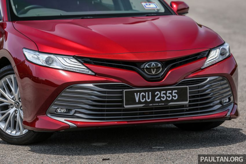 FIRST DRIVE: 2019 Toyota Camry 2.5V – RM190k Image #960226