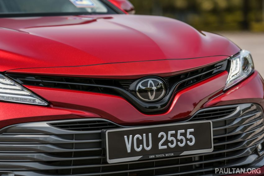 FIRST DRIVE: 2019 Toyota Camry 2.5V – RM190k Image #960230