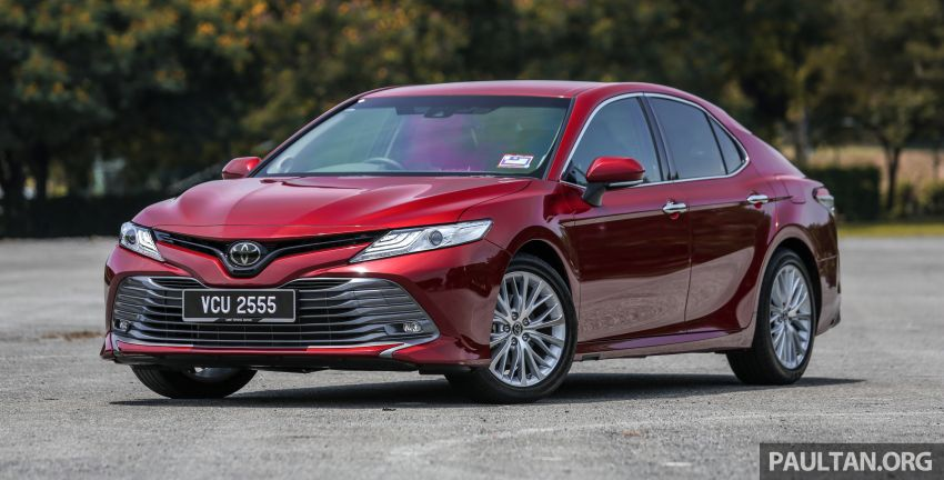 FIRST DRIVE: 2019 Toyota Camry 2.5V – RM190k Image #960213