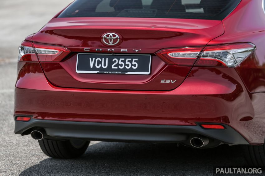 FIRST DRIVE: 2019 Toyota Camry 2.5V – RM190k Image #960239