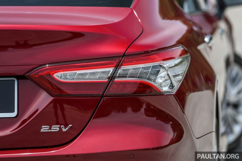 FIRST DRIVE: 2019 Toyota Camry 2.5V – RM190k Image #960240