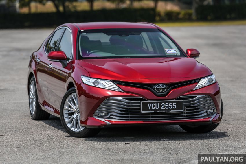 FIRST DRIVE: 2019 Toyota Camry 2.5V – RM190k Image #960214