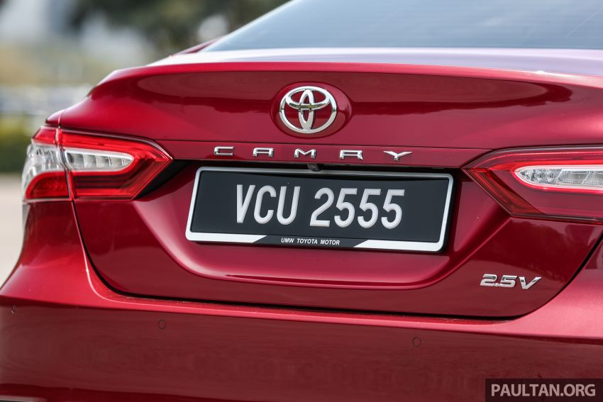 FIRST DRIVE: 2019 Toyota Camry 2.5V – RM190k Image #960243