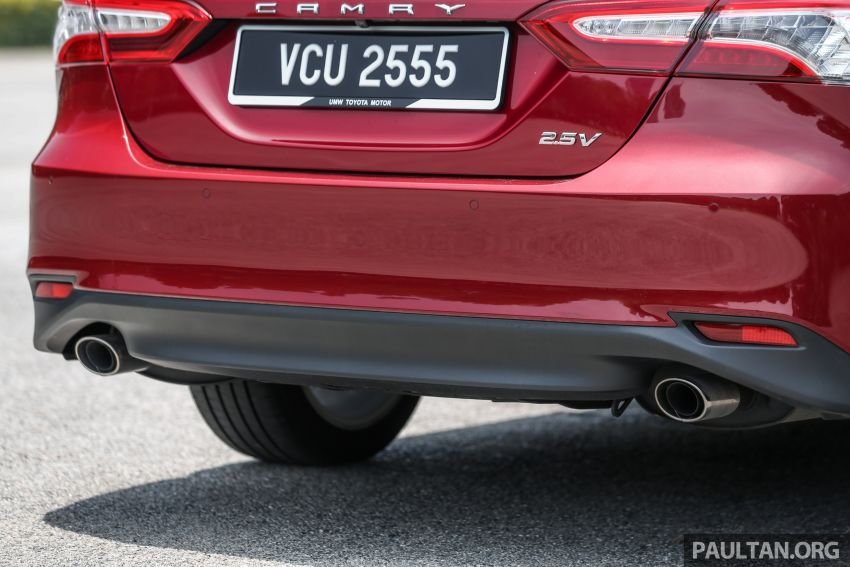 FIRST DRIVE: 2019 Toyota Camry 2.5V – RM190k Image #960244