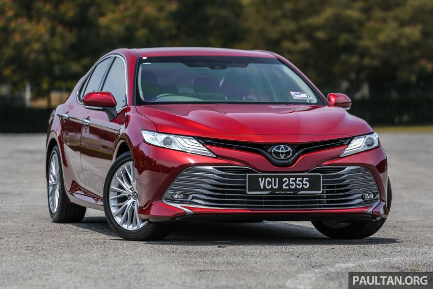 FIRST DRIVE: 2019 Toyota Camry 2.5V – RM190k Image #960215