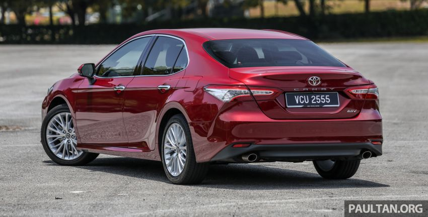 FIRST DRIVE: 2019 Toyota Camry 2.5V – RM190k Image #960216