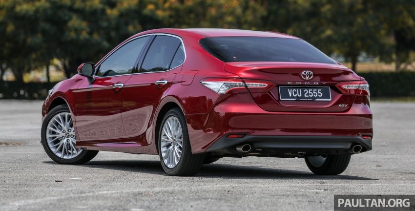 FIRST DRIVE: 2019 Toyota Camry 2.5V – RM190k Image #960217