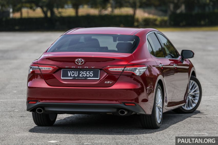 FIRST DRIVE: 2019 Toyota Camry 2.5V – RM190k Image #960218