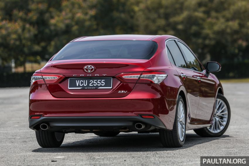 FIRST DRIVE: 2019 Toyota Camry 2.5V – RM190k Image #960219