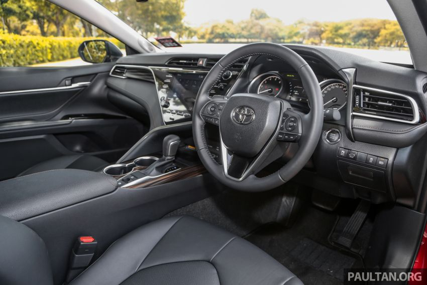 FIRST DRIVE: 2019 Toyota Camry 2.5V – RM190k Image #960249