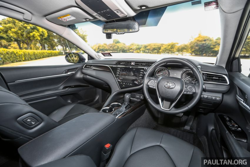 FIRST DRIVE: 2019 Toyota Camry 2.5V – RM190k Image #960282