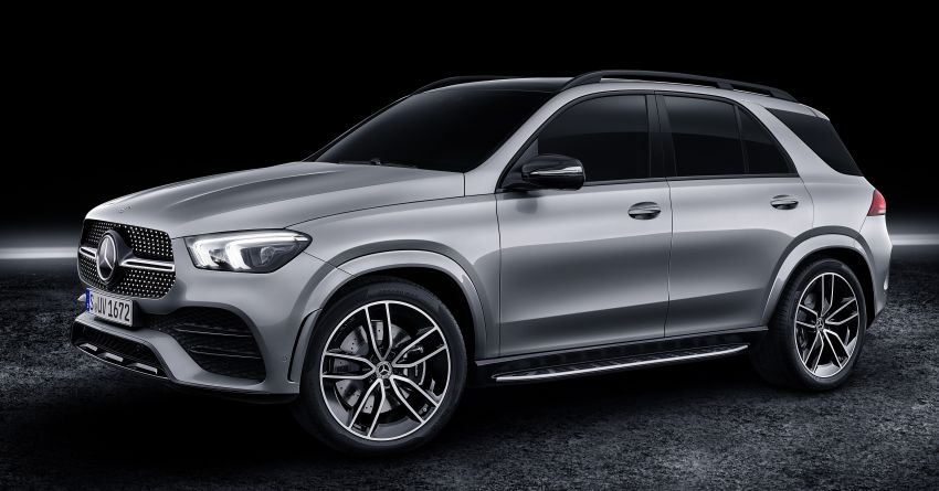 V167 Mercedes-Benz GLE580 4Matic revealed with electrified 4.0 litre biturbo V8 – 483 hp and 700 Nm Image #962264