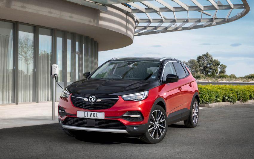 Opel/Vauxhall Grandland X Hybrid4 – brands' 1st PHEV Image #959275