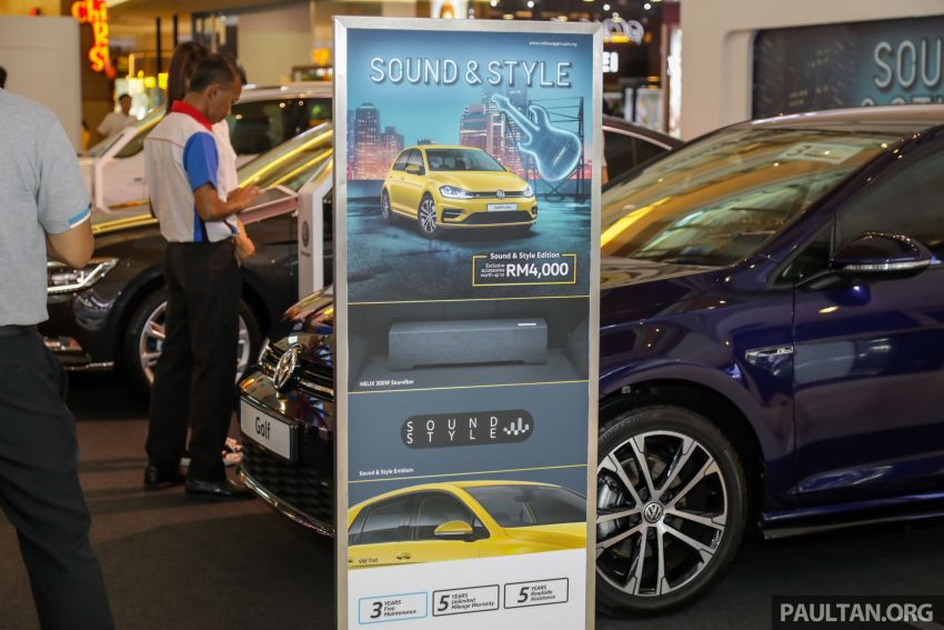 Volkswagen Golf, Passat and Tiguan gain Sound & Style Editions – extra accessories worth up to RM16k Image #959400