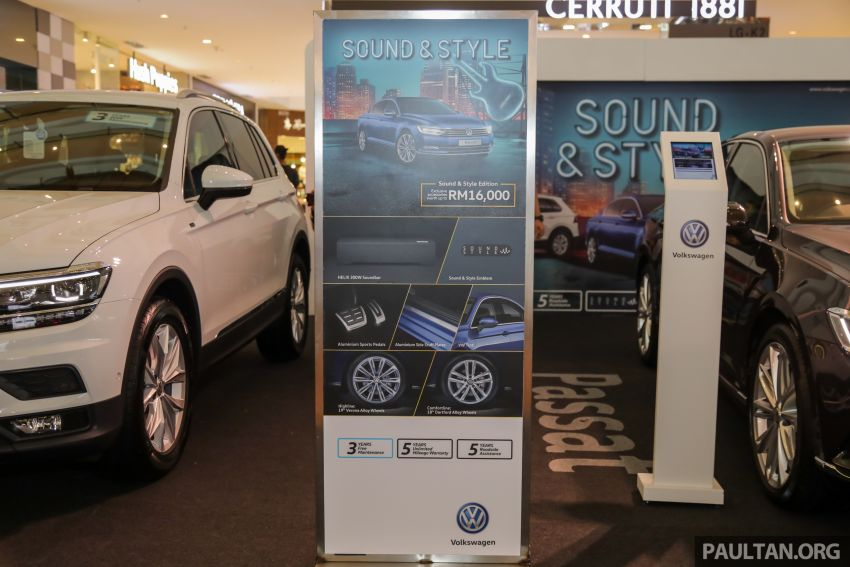 Volkswagen Golf, Passat and Tiguan gain Sound & Style Editions – extra accessories worth up to RM16k Image #959413