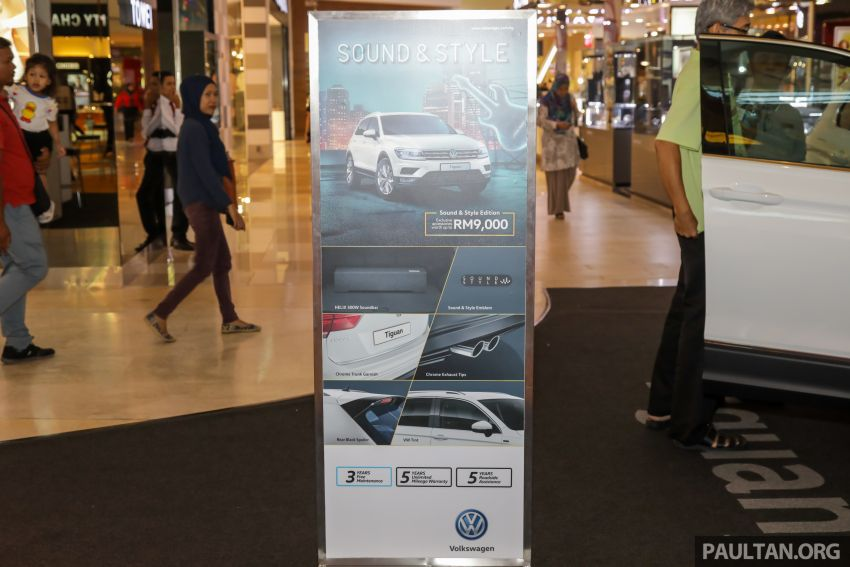 Volkswagen Golf, Passat and Tiguan gain Sound & Style Editions – extra accessories worth up to RM16k Image #959429