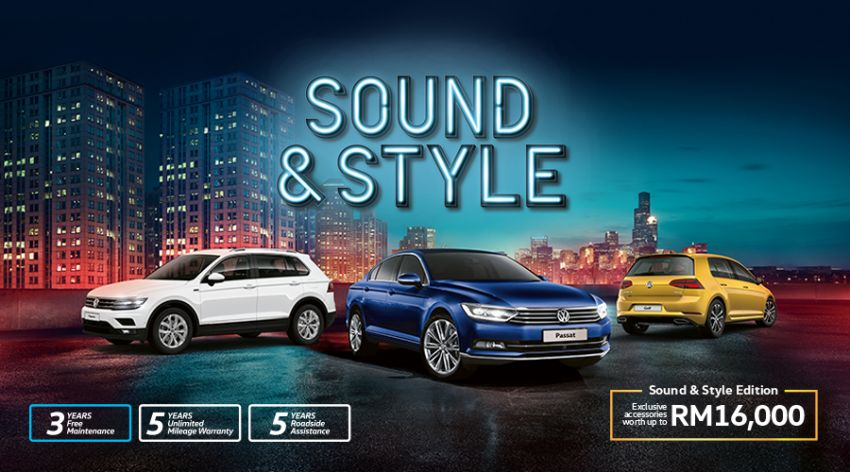 Volkswagen Golf, Passat and Tiguan gain Sound & Style Editions – extra accessories worth up to RM16k Image #959605