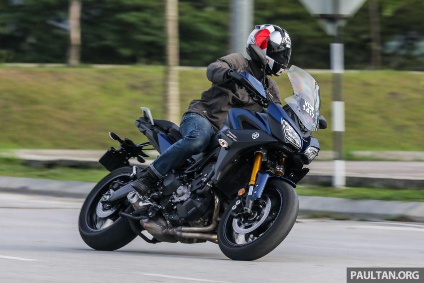 TUNGGANG UJI: Yamaha Tracer 900 GT – benarkah naik taraf baru membantu berikan lebih kepuasan? Image #959474