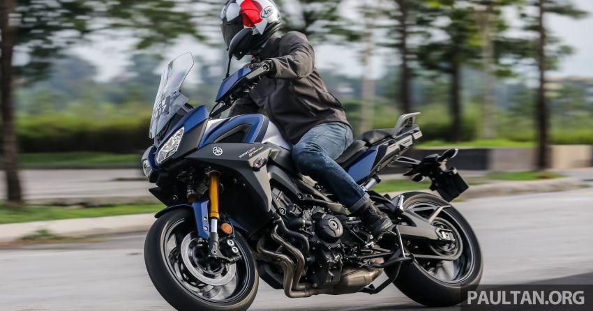 TUNGGANG UJI: Yamaha Tracer 900 GT – benarkah naik taraf baru membantu berikan lebih kepuasan? Image #959539
