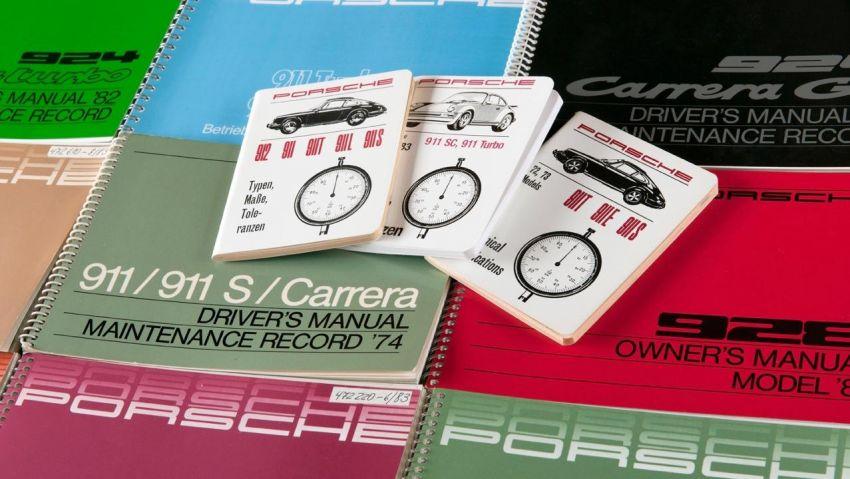 Porsche reprints driver's manuals – 356 to 996-gen 911 Image #957377