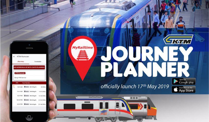 KTM lancar aplikasi MyRailtime, tawar jadual perjalanan tren Komuter untuk Lembah Klang Image #961059