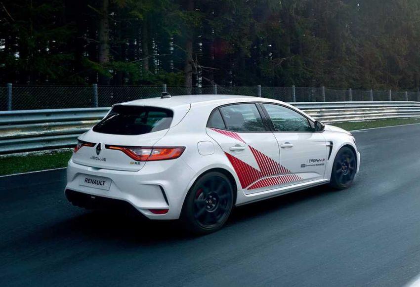Renault Megane RS Trophy-R leburkan rekod Honda Civic Type-R di Nürburgring – 3 saat lebih pantas! Image #961969