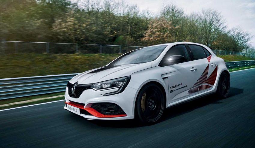 Renault Megane RS Trophy-R leburkan rekod Honda Civic Type-R di Nürburgring – 3 saat lebih pantas! Image #961968