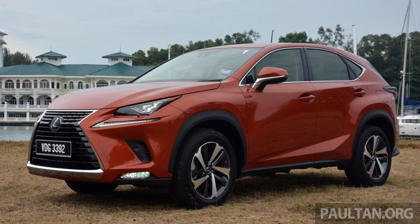 2019 Lexus NX 300 range officially launched – now with Lexus Safety System+, lowered prices fr RM314k Image #973415