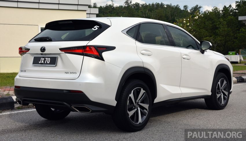 2019 Lexus NX 300 range officially launched – now with Lexus Safety System+, lowered prices fr RM314k Image #973405