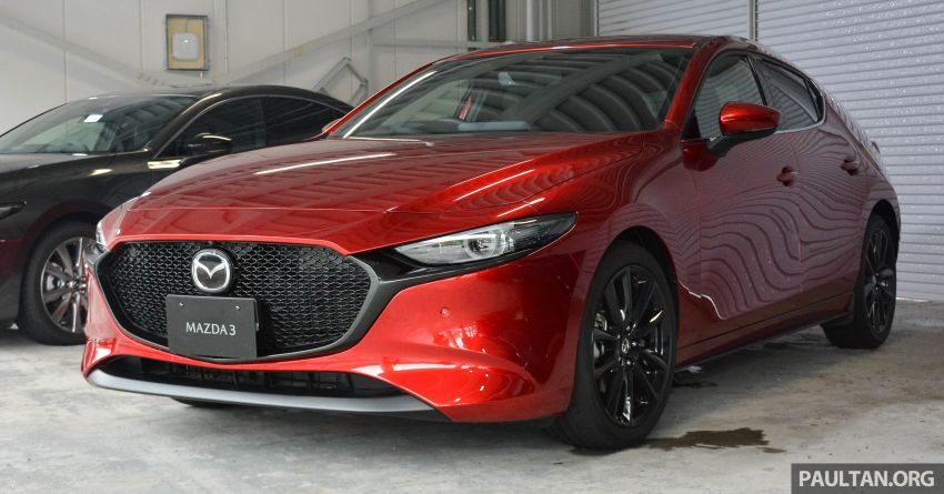 GALLERY: 2019 Mazda 3 – hatchback, sedan in Japan Image #972644