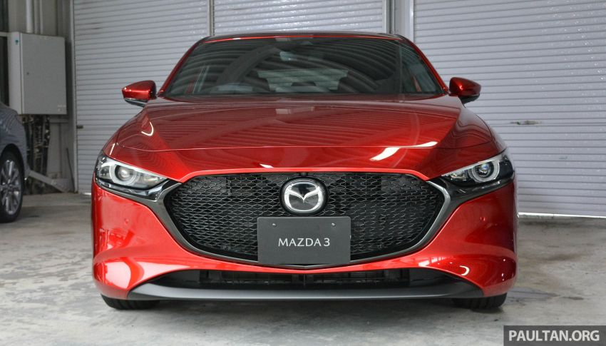 GALLERY: 2019 Mazda 3 – hatchback, sedan in Japan Image #972648