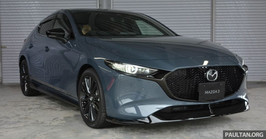 GALLERY: 2019 Mazda 3 – hatchback, sedan in Japan Image #972650