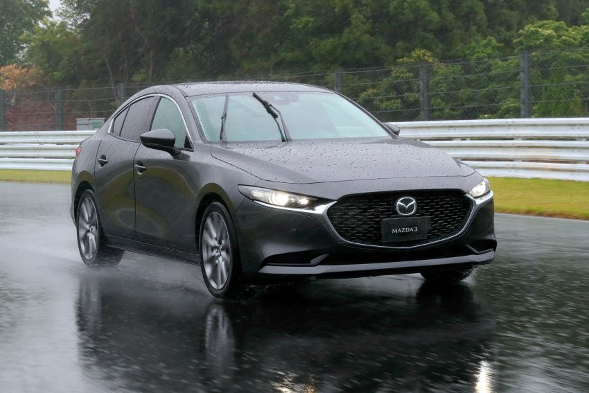 2019 Mazda 3 in detail – improved NVH; why a torsion beam and no touchscreen; unique sedan/hatch styling Image #974285