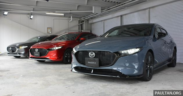 2019 Mazda 3 Malaysian pricing revealed - RM140k to RM161k
