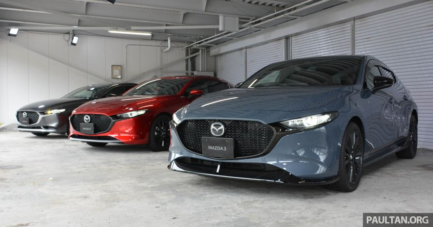 GALLERY: 2019 Mazda 3 – hatchback, sedan in Japan Image #972734