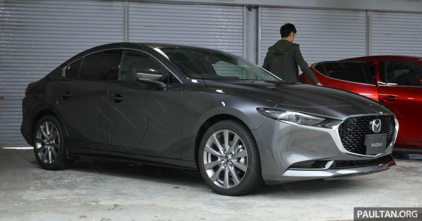 GALLERY: 2019 Mazda 3 – hatchback, sedan in Japan Image #972647