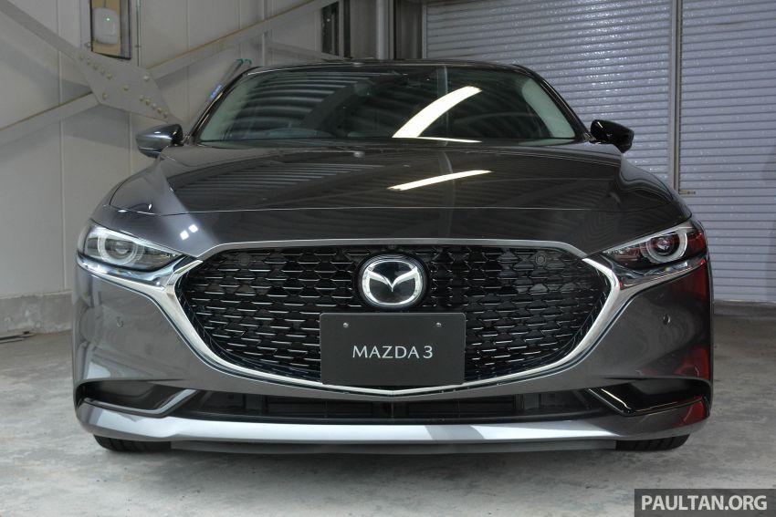 GALLERY: 2019 Mazda 3 – hatchback, sedan in Japan Image #972652
