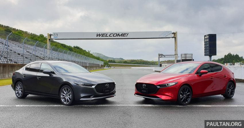 DRIVEN: 2019 Mazda 3 – first impressions in Japan Image #974465