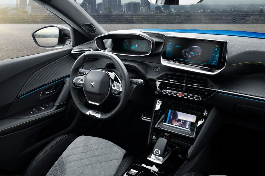 2019 Peugeot 2008 revealed – based on new 208 with lots of tech, electric e-2008 variant with 310 km range Image #974800