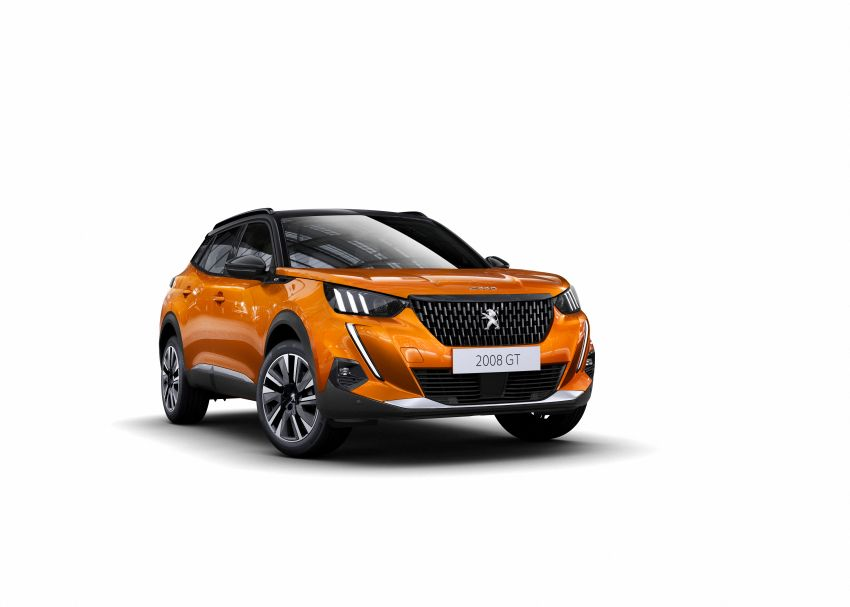 2019 Peugeot 2008 revealed – based on new 208 with lots of tech, electric e-2008 variant with 310 km range Image #974823