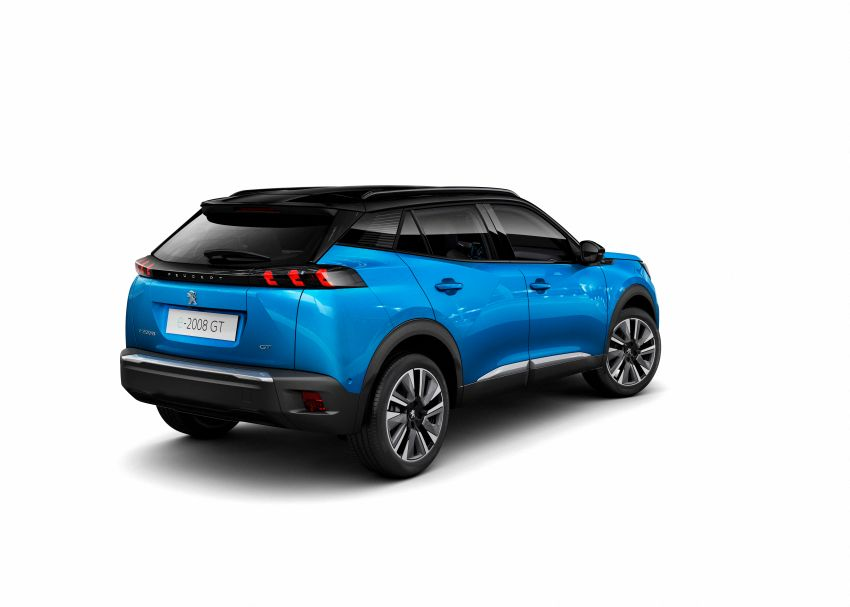 2019 Peugeot 2008 revealed – based on new 208 with lots of tech, electric e-2008 variant with 310 km range Image #974832