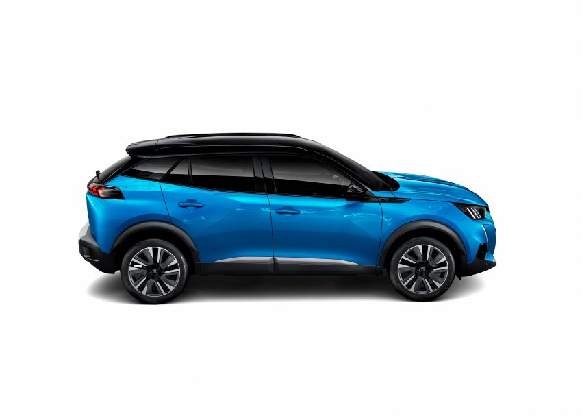 2019 Peugeot 2008 revealed – based on new 208 with lots of tech, electric e-2008 variant with 310 km range Image #974833