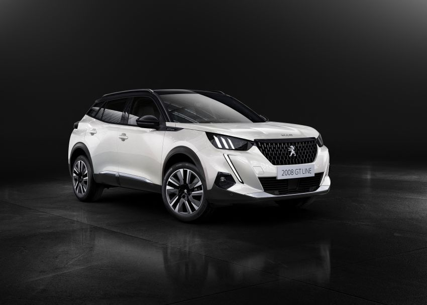 2019 Peugeot 2008 revealed – based on new 208 with lots of tech, electric e-2008 variant with 310 km range Image #974836